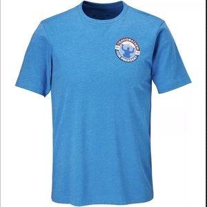 Travis Mathew Men's Golf Blue T-Shirt Sz Small New